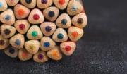 Trekantede blyanter
